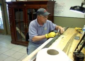 oyster bamboo fly rod making class planing form